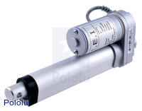 "Concentric LACT4-12V-5 Linear Actuator: 4"" Stroke, 12V, 1.7""/s"