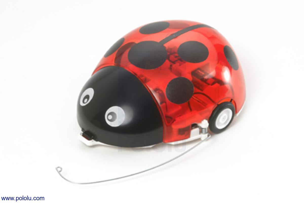pololu tamiya 70195 wall hugging ladybug