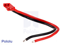 JST RCY Plug with 10cm Leads, Female