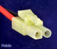 Female mini Tamiya plug connector.
