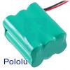 可充电镍氢电池组:7.2 V, 2200 mAh, 3x2 AA电池,JR连接器