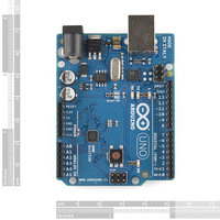 Arduino Uno SMD edition, top view.