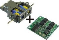 Low-Voltage Dual Serial Motor Controller + Tamiya Double Gearbox Combo