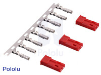 JST RCY Connector Pack, Female