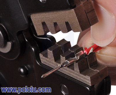 pololu crimping tool mm capacity 20 28 awg. Black Bedroom Furniture Sets. Home Design Ideas