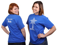 """""""In these shirts, people will know we're pretty and smart."""""""