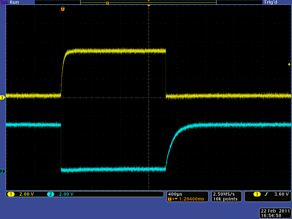 Pololu Simple Hardware Approach To Controlling A Servo Voltage Controlled Resistor Equivalent Circuit Model Basiccircuit Control Output With Variable R2 In The Middle Of Its Range