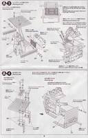 Tamiya 70166 Sound Activated Walking Robot instructions page 6.