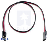 "Servo Extension Cable 12"" Female - Female"