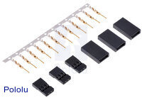 Futaba J Connector Pack, Male