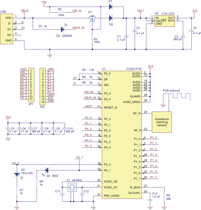 pololu wixel user s guide schematic diagram