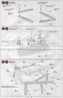 Tamiya 70166 Sound Activated Walking Robot instructions page 9.
