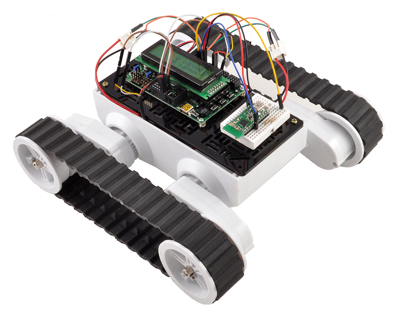Pololu dagu rover tracked chassis with encoders