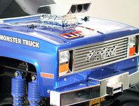 Tamiya 58321 Super Clod Buster Kit front close-up.