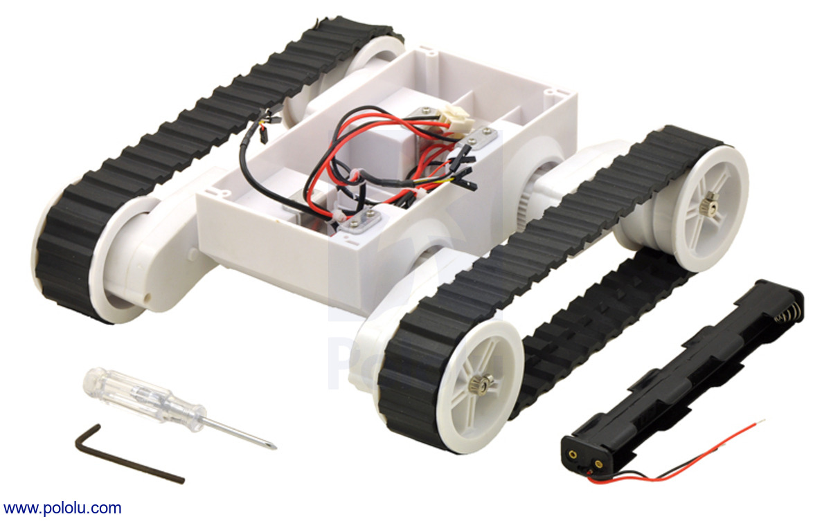 Programmable Toys Dedicated Gray Rover 5 Chassis With 4 Encoder 4 Motors Tank Chassis Robot Platfrom