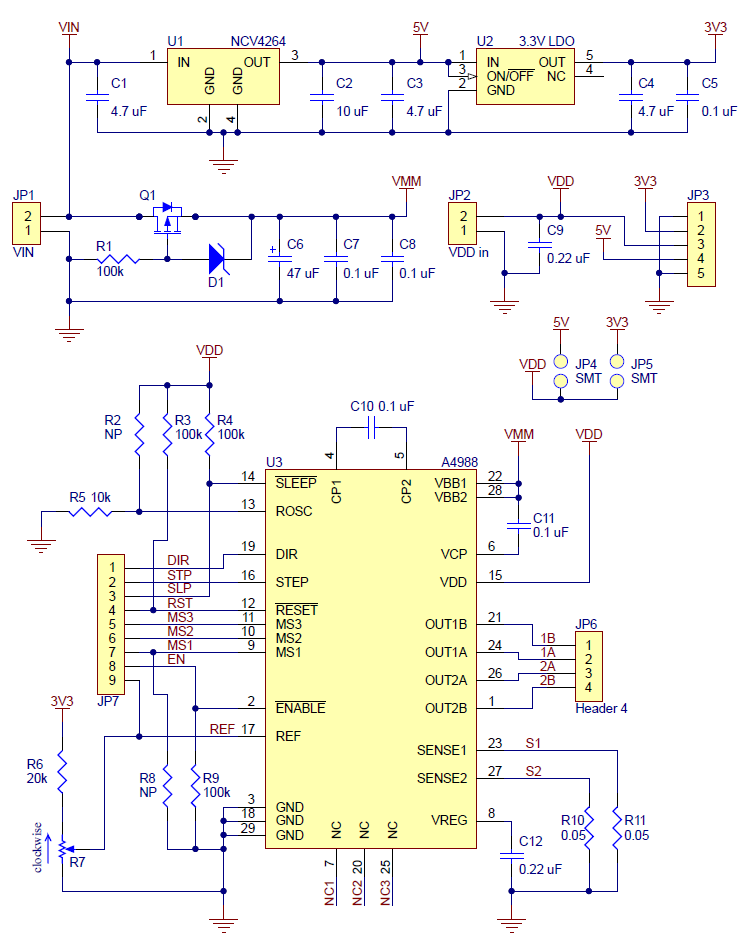 0J3424.1200?e2e9b7c75b62331f38b926aa336f7f8a pololu a4988 stepper motor driver carrier with voltage regulators a4988 wiring diagram at crackthecode.co