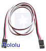 "Servo Extension Cable 24"" Female - Female"