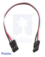 "Servo Extension Cable 6"" Female - Female"