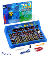 Elenco 75-in-One Electronic Project Lab.