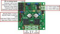TReX Jr input/output connection points