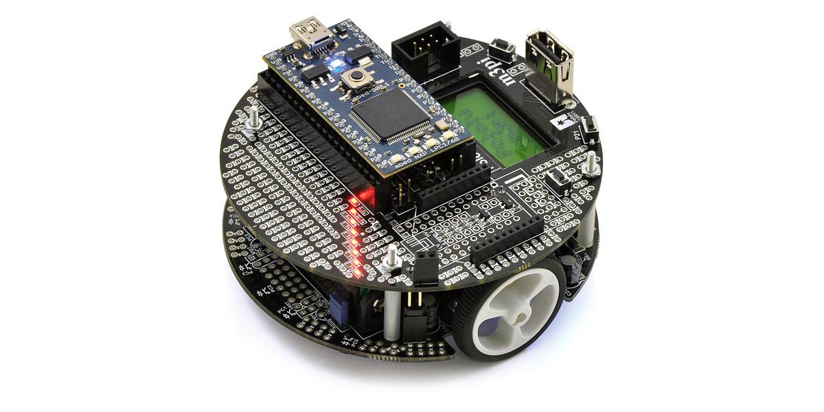 Pololu - m3pi Robot + mbed NXP LPC1768 Development Board Combo