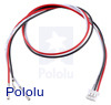 "3-Pin Female JST PH-Style Cable (30 cm) with Female Pins for 0.1"" Housings"