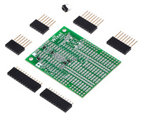 Wixel shield for Arduino with included hardware.