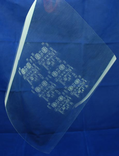 Pololu - Laser-Cut Mylar SMT Stencil