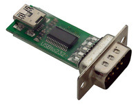 Parallax USB-to-serial (RS-232) adapter #28030.