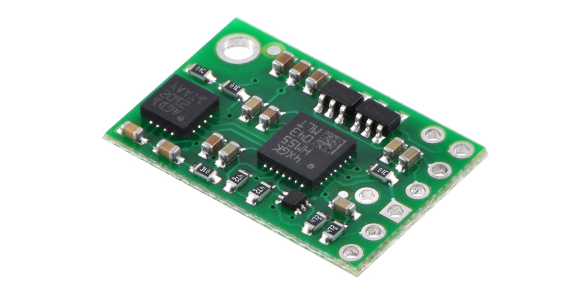 Pololu - MinIMU-9 Gyro, Accelerometer, and Compass (L3G4200D and LSM303DLM  Carrier)