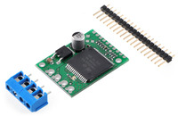 VNH5019 motor driver carrier with included hardware.