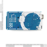Arduino Mega 2560, bottom view.