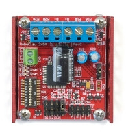 Basic Micro RoboClaw 2x5A dual motor controller.