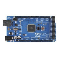 Arduino Mega 2560 R3, top view.