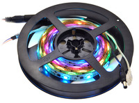 2-meter addressable RGB LED strip on included reel.