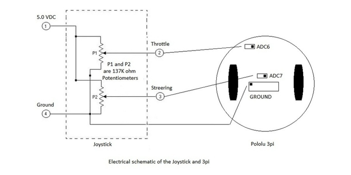 Joystick Schematic Diagram - Wiring Diagrams List on