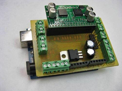 Trackduino P1213 Arduino shield