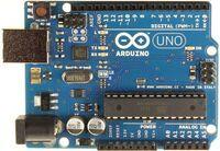 Arduino R3, top view.