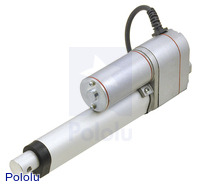 "Generic Linear Actuator with Feedback: 4"" Stroke, 12V, 0.6""/s"
