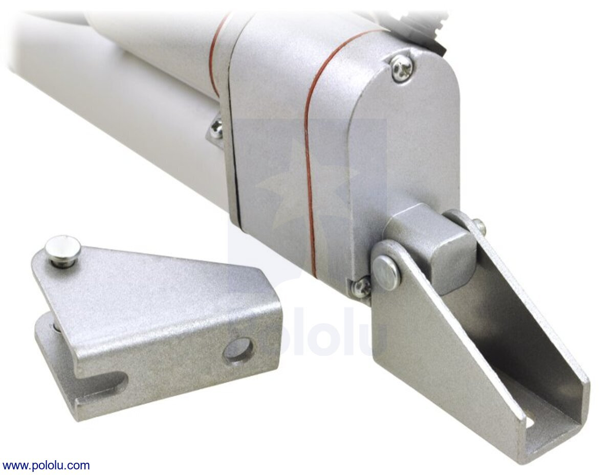Pololu Generic Linear Actuator With Feedback 4 Stroke 12v 06 S Wiring Diagram Bracket Connected To One End Of A
