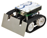 Example project using the Pololu Zumo chassis with an Arduino.