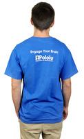 Pololu 2012 T-shirt, back.