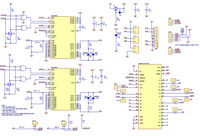 Schematic diagram for the Dual MC33926 Motor Driver Shield for Arduino.