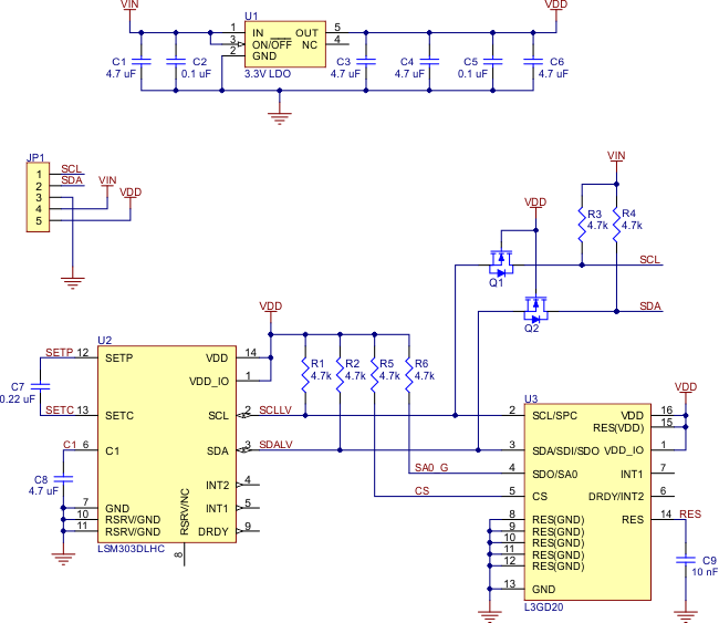 0J4042.650?a07e272e13c537f6daf64c09fd0b1c38 pololu minimu 9 v2 gyro, accelerometer, and compass (l3gd20 and Basic Electrical Schematic Diagrams at fashall.co