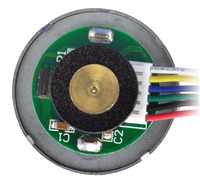 37D mm metal gearmotor with 64 CPR encoder (no end cap).