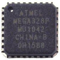 Atmel ATmega328P AVR microcontroller.