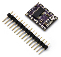 DRV8825 stepper motor driver carrier with included hardware.