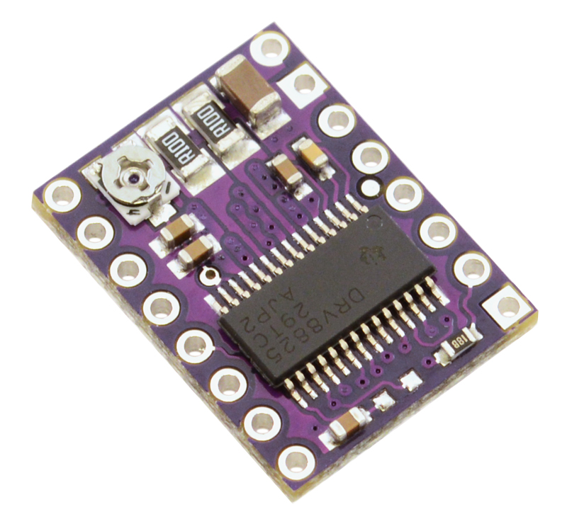 DRV8825 Stepper Motor Driver Carrier, High Current (md20a)