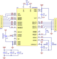 Schematic diagram of the md20a DRV8825 stepper motor driver carrier.