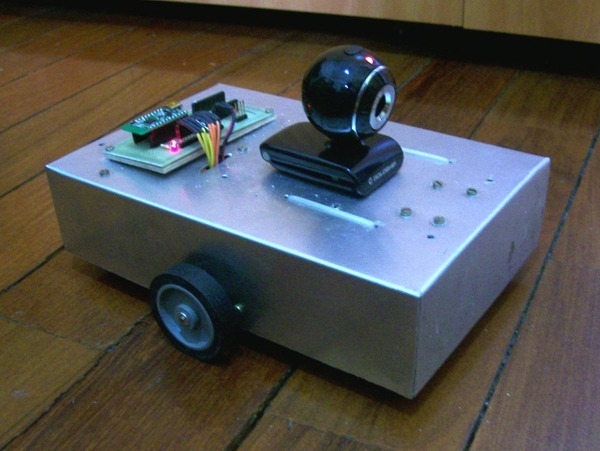 Wixel-controlled robot